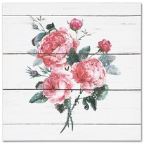 Tablou pe pânză Roses, 28 x 28 cm