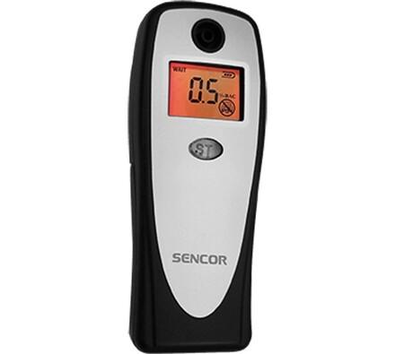 Alkohol tester Sencor SCA BA01 V2, stříbrná, 3,6 x 9,8 x 1,6 cm