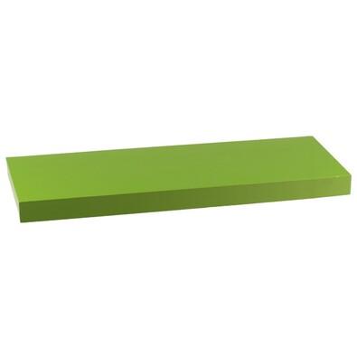 Nástěnná polička zelená