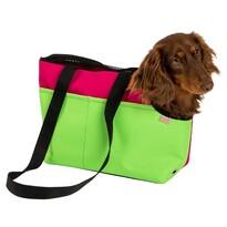 Samohýl Transportní taška Boseň Prémium zeleno-malinová, 30 cm