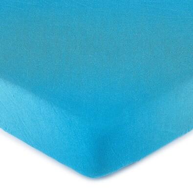 4Home prześcieradło jersey niebieski, 140 x 200 cm