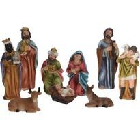 Vánoční dekorace Betlém, 9 postav