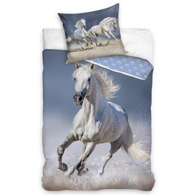 Bavlnené obliečky Kôň Belko, 140 x 200 cm, 70 x 90 cm