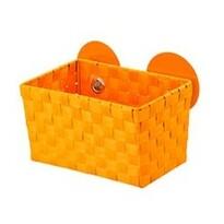 Wenko košík s přísavkami oranžová