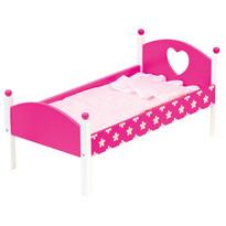 Bino fa játék ágy takaróval