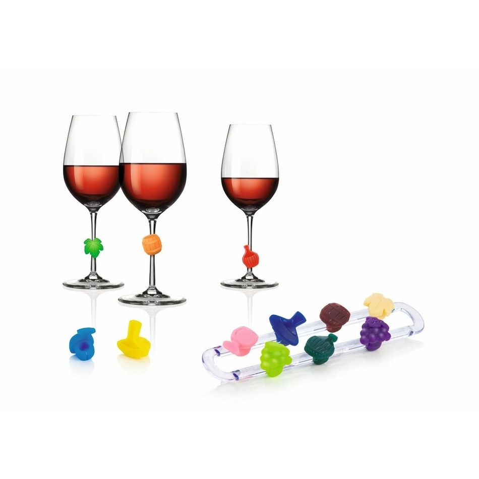 TESCOMA myDRINK značky na vínne poháre 12 ks