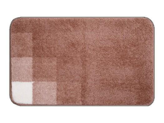 Koupelnová předložka Grund UDINE hnědá, 50 x 80 cm