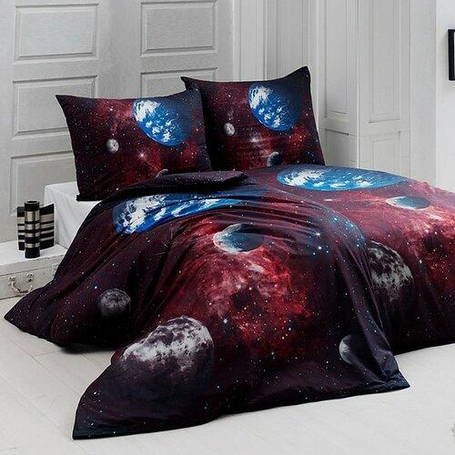 Matějovský Bavlnené obliečky Deluxe Vesmír, 140 x 200 cm, 70 x 90 cm