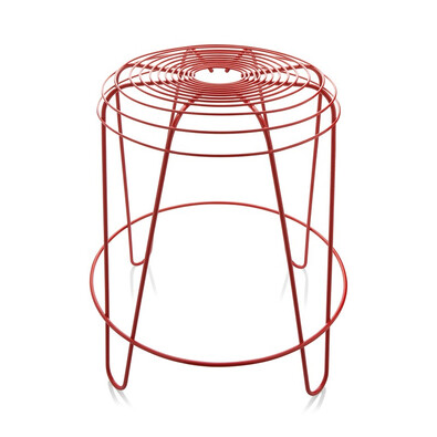 Stolička A Tempo 45 cm, červená