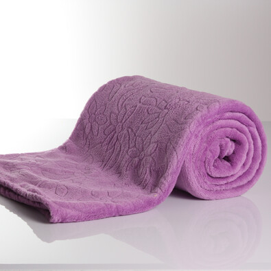 Deka Adele fialová, 140 x 200 cm