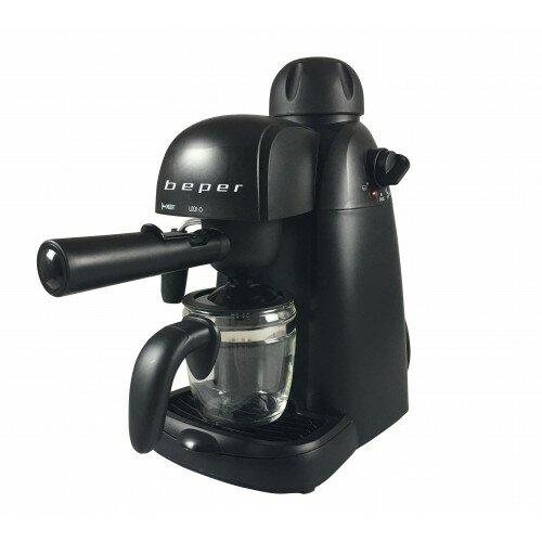 BEPER BC002 pákový kávovar, čierna