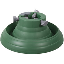 Plastikowy stojak pod choinkę Luna, zielony