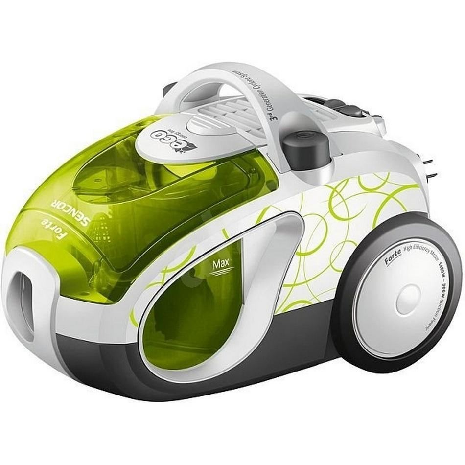 Sencor SVC 1011GR-EUE2 bezsáčk. vysavač, zelená