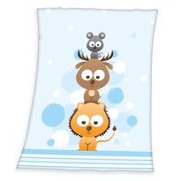 Dětská deka Fynn Sweet Animals, 75 x 100 cm