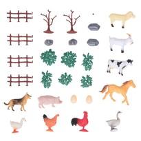 Koopman Állatok a farmon készlet, 22 db