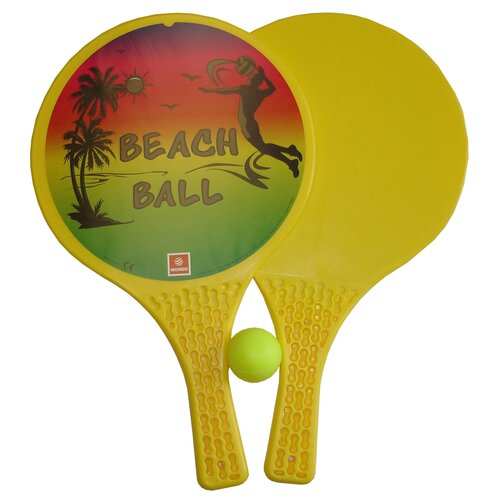 Plážový tenis - Beach ball - 2 pálky, loptička