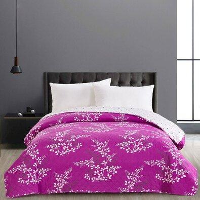 DecoKing Calluna ágytakaró, lila, 220 x 240 cm