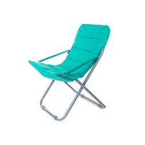 Happy Green Plážové skládací křeslo Varadero modrá, 62 x 85 x 92 cm