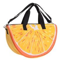 Plážová taška Pomaranč oranžová, 49 x 28 x 15 cm