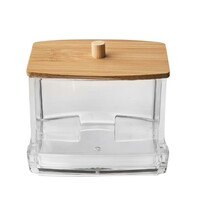 Orion WHITNEY vattapálcika-tartó doboz, 9 x 8,5 x 8 cm