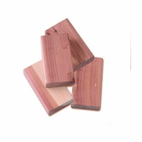 Compactor Set 4 piese pentru combaterea moliilor , din lemn de cedru