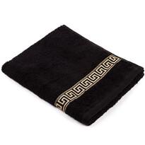 """Ręcznik """"Greek"""" czarny, 50 x 90cm"""