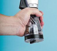 Mlýnek na pepř a sůl, transparentní, 25 cm, transparentní