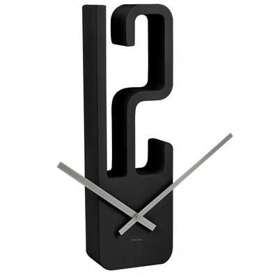 Karlsson 5318BK nástěnné hodiny