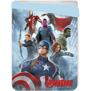 Jerry Fabrics Dětská prošívaná přikrývka Avengers, 180 x 260 cm