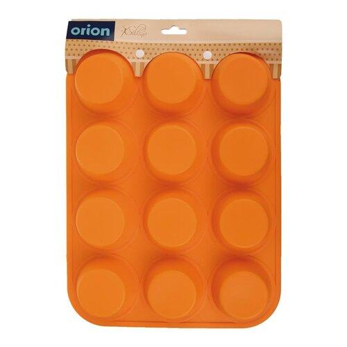 Orion Forma silikón MUFFINY 12, oranžová