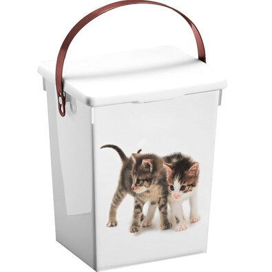 Kontejner na krmivo kočka, 5 l, 23,5 x 18 x 16,5 cm