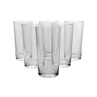Pasabahce 6dielna sada pohárov Alanya, 260 ml