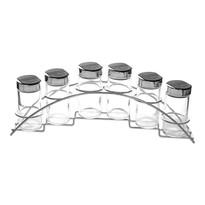 Orion Set 6 recipiente pentru condimente în suport