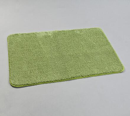 Koupelnová předložka, 60 x 90 cm, zelená