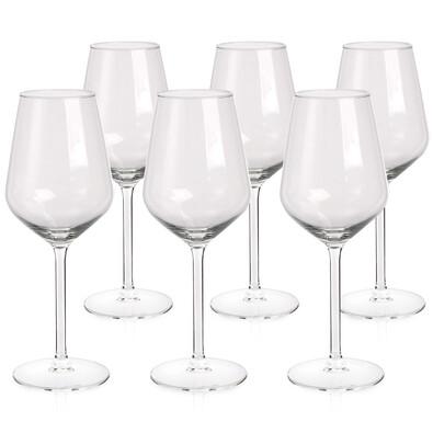Altom Sada sklenic na bílé víno Rubín370 ml, 6 ks