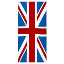 Prosop de plajă Steagul Angliei, 70 x 150 cm