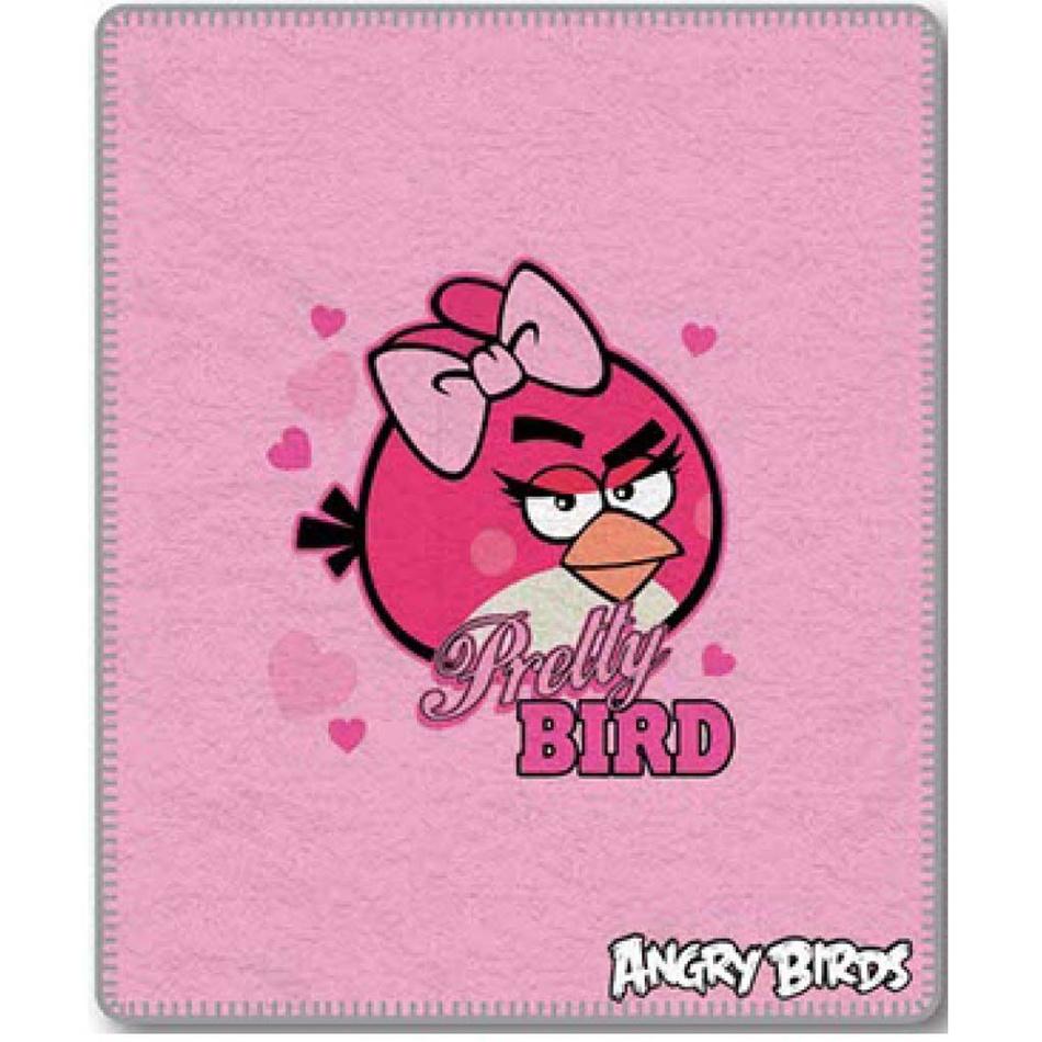 Jerry Fabrics Dětská deka Angry Birds 046, 120 x 150 cm