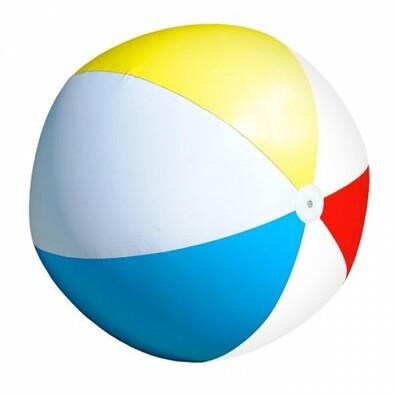 Obří nafukovací plážový míč