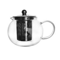 Orion üveg teafőző szűrővel, 0,8 l
