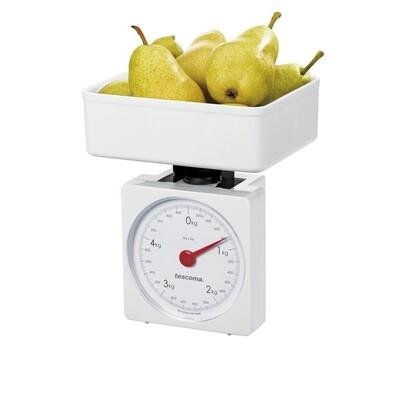 Tescoma ACCURA kuchyňská váha mechanická 5 kg bílá