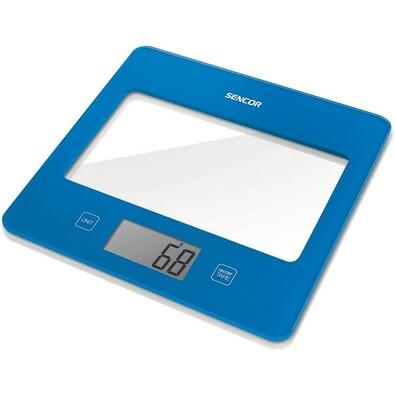 Sencor SKS 5022BL kuchyňská váha, modrá