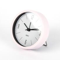 Ébresztőóra Round rózsaszín, átmérő 9,2 cm
