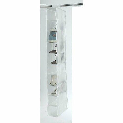 Compactor Organizator suspendat pentru încălțăminte Milky, 15 x 30 x 128 cm imagine 2021 e4home.ro