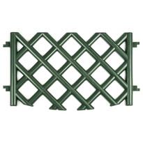 Gard de grădină, grătar, verde