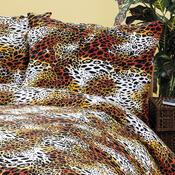 4Home bavlněné povlečení Leopard, 140 x 220 cm, 70 x 90 cm