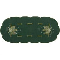 Faţă de masă de Crăciun Lumânări, verde