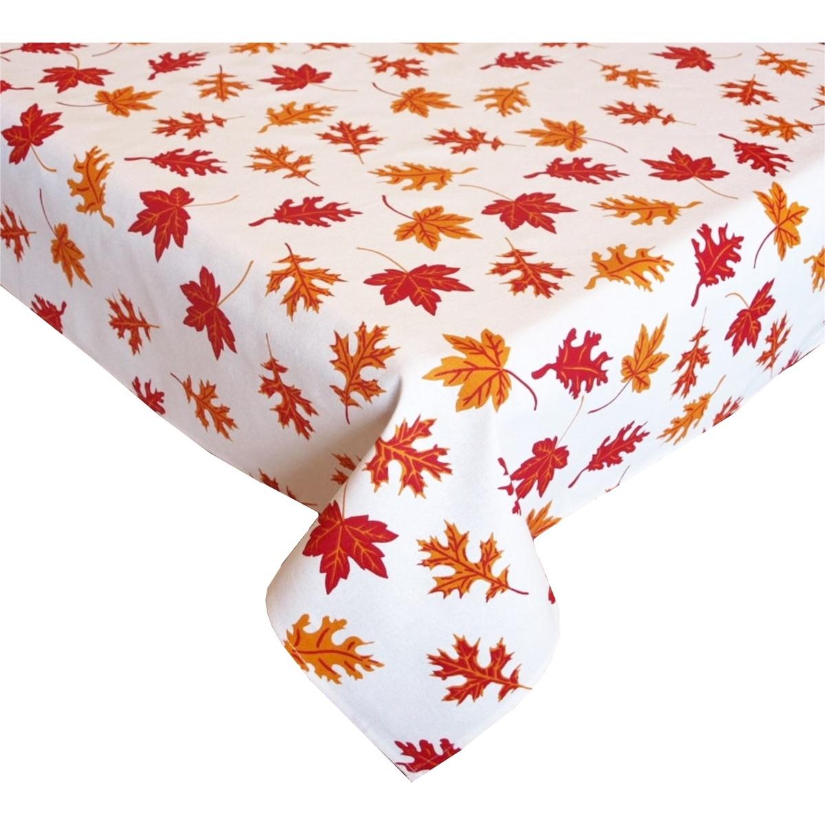 Forbyt Obrus ??Jesenné lístie, oranžová, 90 x 90 cm