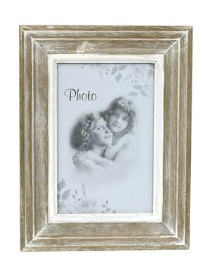 Fotorámeček dřevěný pro rozměr fotky 15 x 10 cm