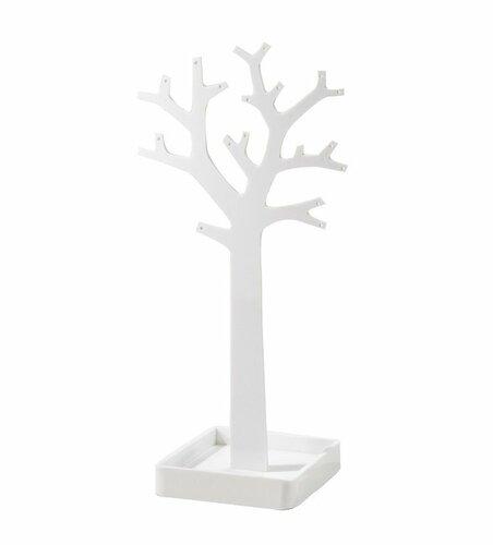 Compactor Stojan na šperky ve tvaru stromu, bílá