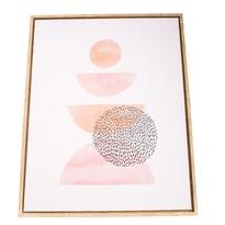 Tablou pe pânză înrămat Modern, 40 x 50 cm